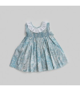 """Agua"" Smocked dress"