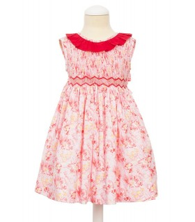 """Primavera"" Smocked dress"