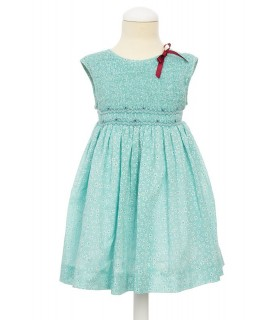 "Smocked ""Aguamarina"" Dress"