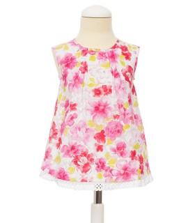 Camisa floral niña