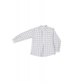 """Hojas"" Checked shirt"