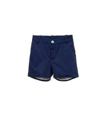 Pantalon niño Lirio. Pantalon liso en azul marino. 4 bolsillos. Forrado. Goma ajustable.1. Azul marinoT2A - T12A