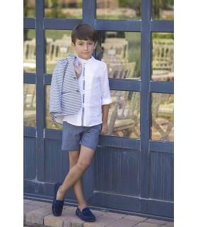 Camisa niño Orquidea