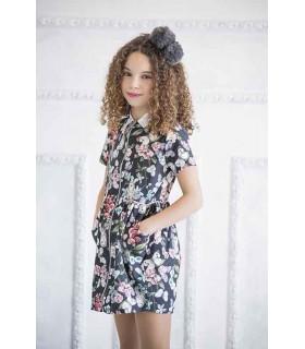 Rome zipper dress