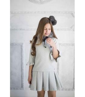 Marsella pleated dress