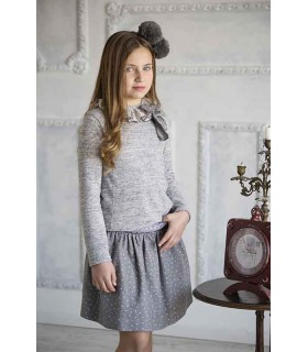 Berlin smocked skirt