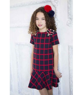 """Checked"" Girl dress"