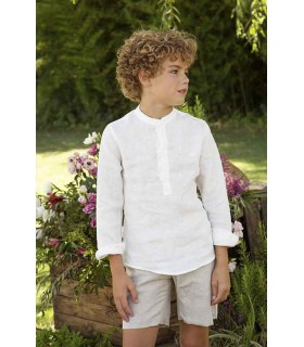 Linen shorts for boys