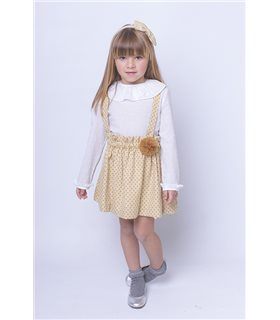 Camisa niña plumetti Alessandra