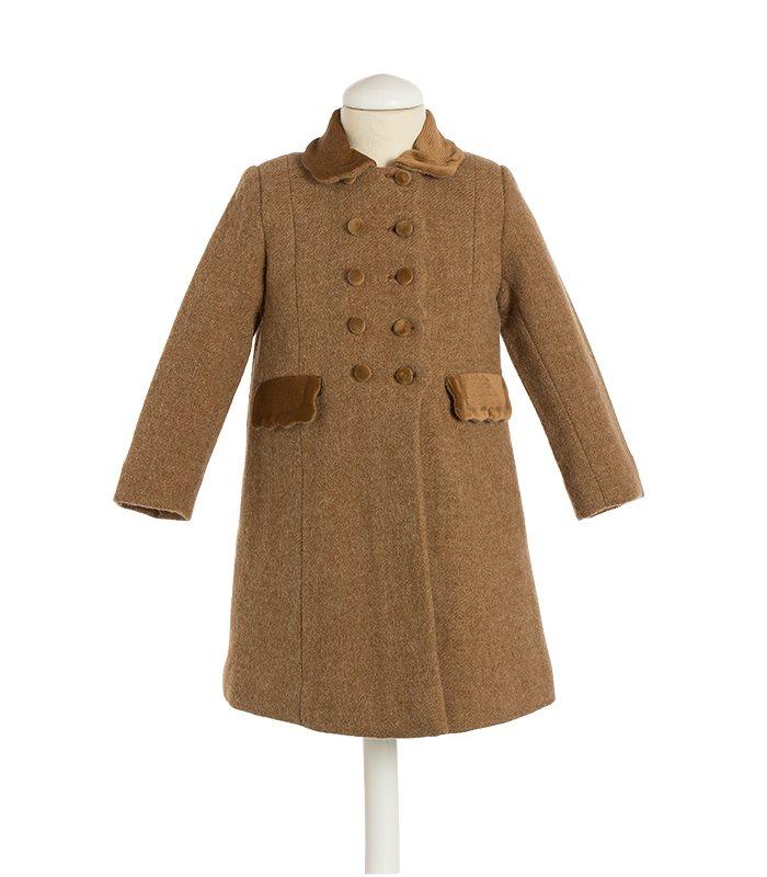 "Girl coat ""Ondas Costadillo"""