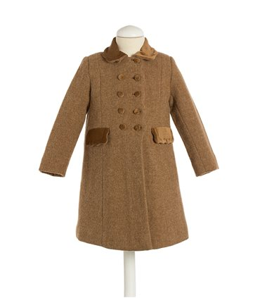 "Girl coat ""Ondas Costadillo"""