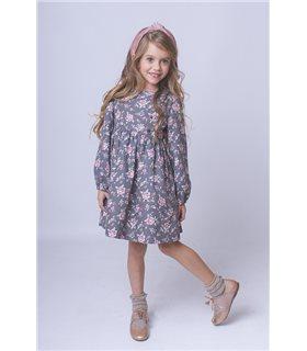 Vestido niña Chloé floral
