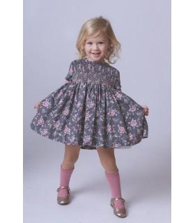 Flowered baby dress Chloe