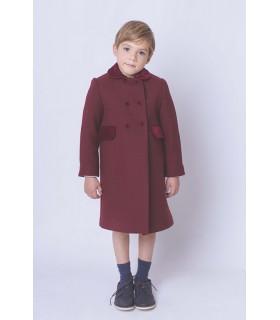Abrigo niño clásico