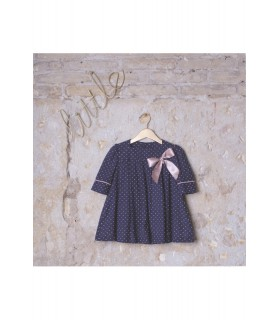 Plumetti dress with bow