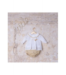 Baby Girl smocked set