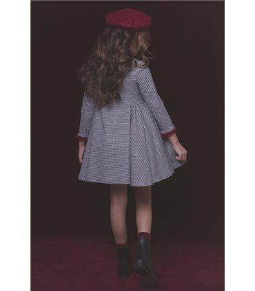 Vestido Brigitte cremallera lateral