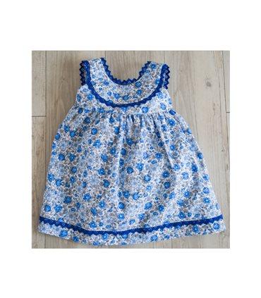 Vestido Blue estampado